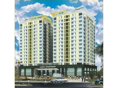 Can ho Lucky Apartment, căn hộ Lucky Tân Phú