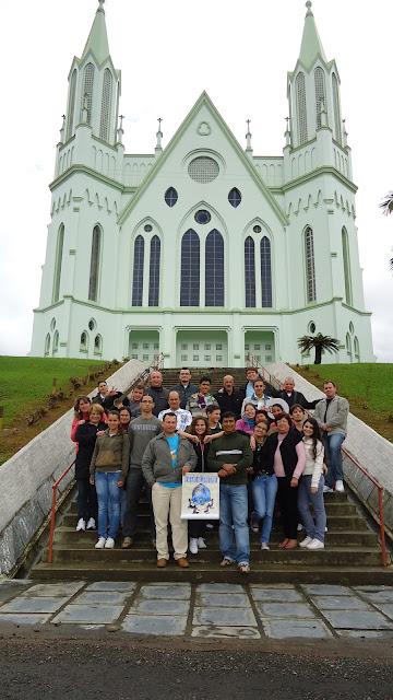Formação para a JM de Santa Catarina reúne três dioceses