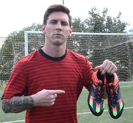 Nuevas botas Messi15.1 de Adidas
