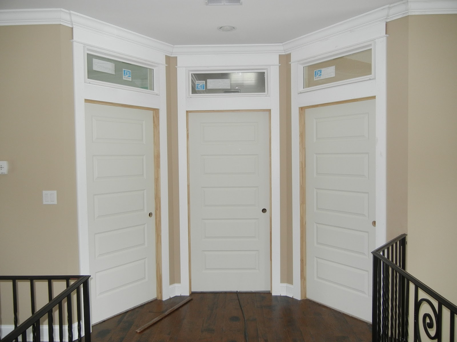 Double Oak Plantation Then Now Transoms Over The Interior Doors