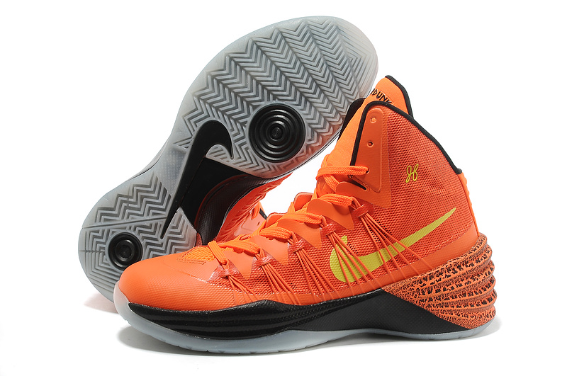 Buy Nike Hyperdunk 2013 New XDR Orange Black Yellow Mens