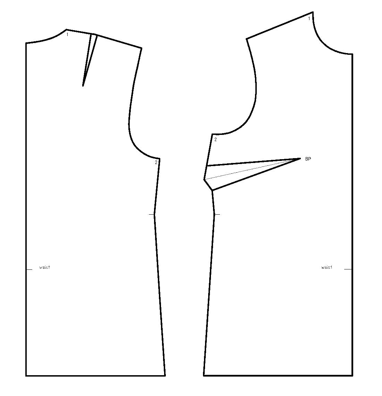Basic Lines In Art : Flekka challenge week sleeveless top with neckline