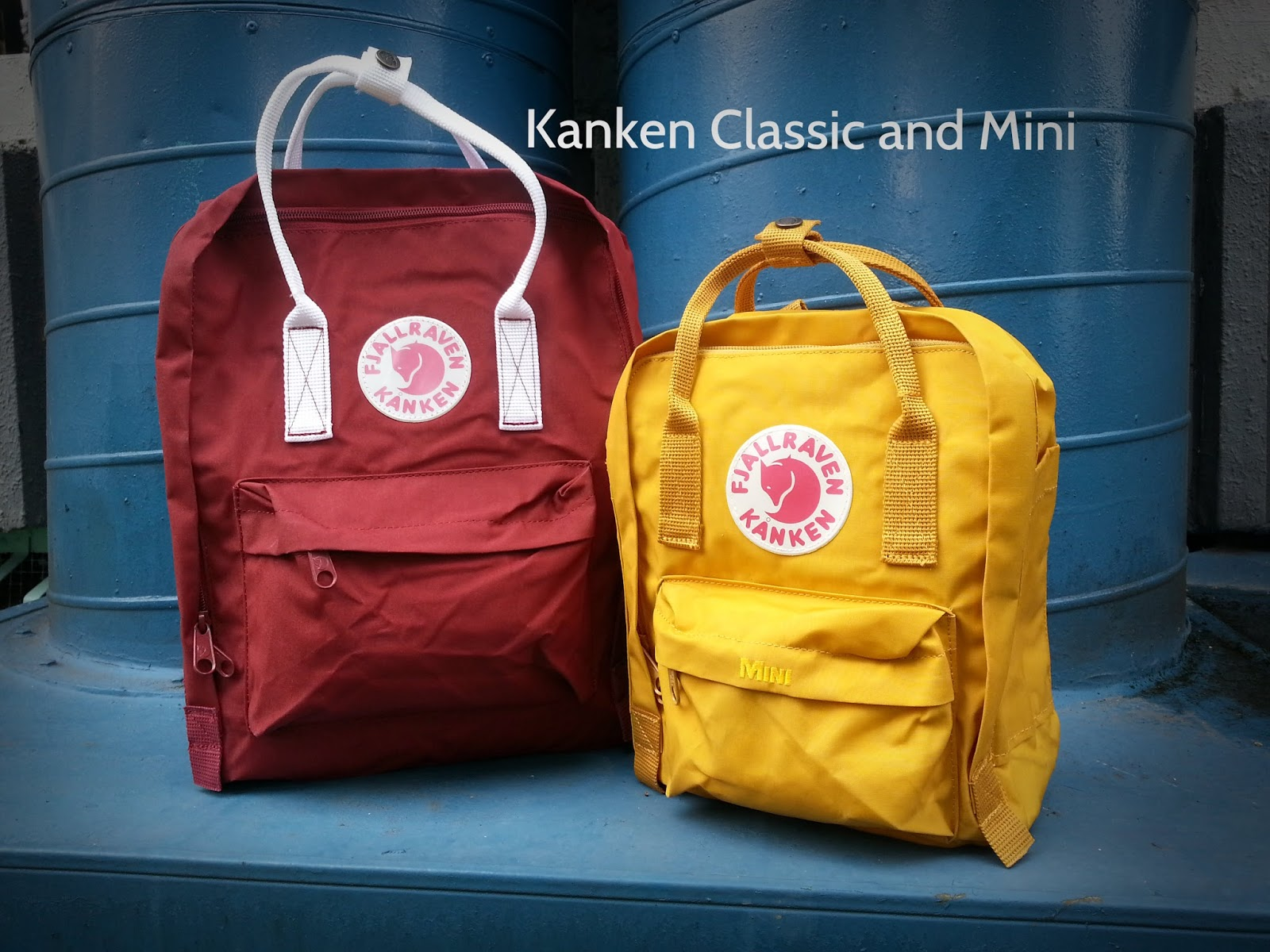 fjallraven kanken mini vs classic