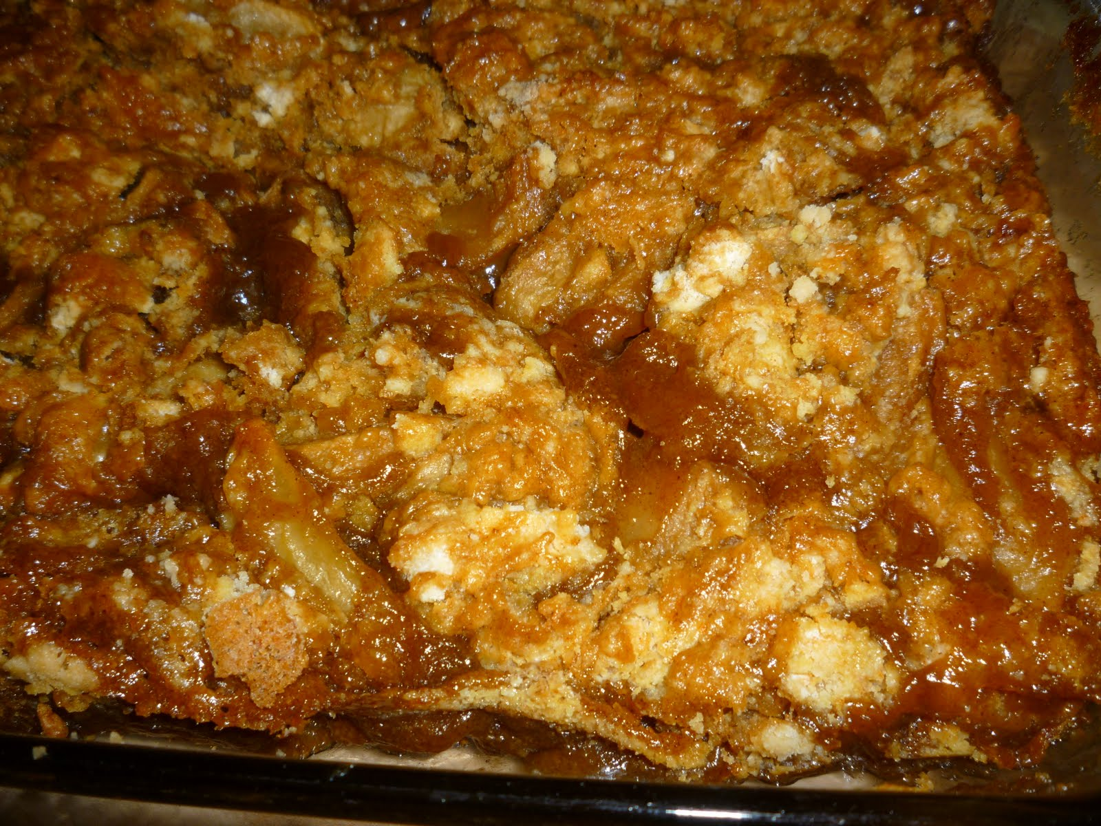 Here's an Apple Cobbler that has become our family's favorite dessert.