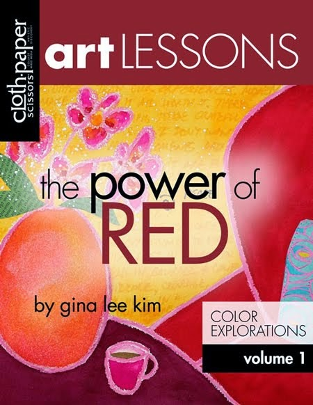 2015 January Art Lesson - Volume RED AVAILABLE NOW