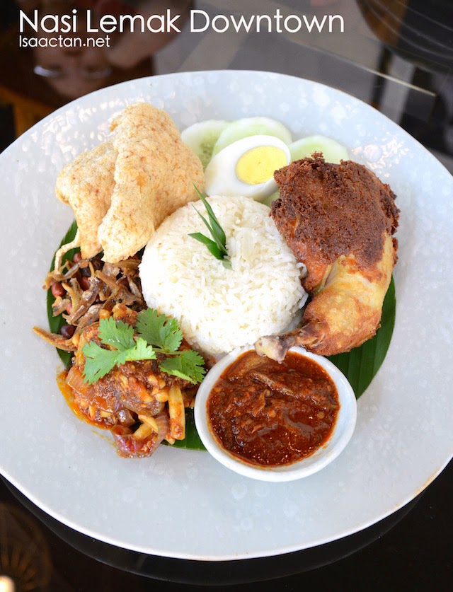 Nasi Lemak Downtown - RM29.90