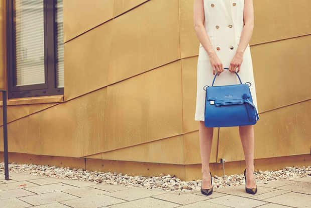 39a073a5372c ESCADA celebrates its 40th anniversary in 2016 and introduces its new signature  handbag