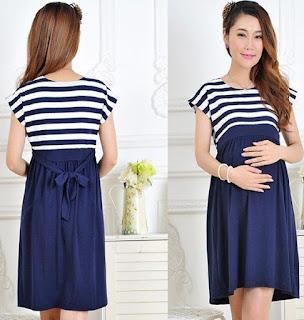 dress cocok untuk ibu hamil