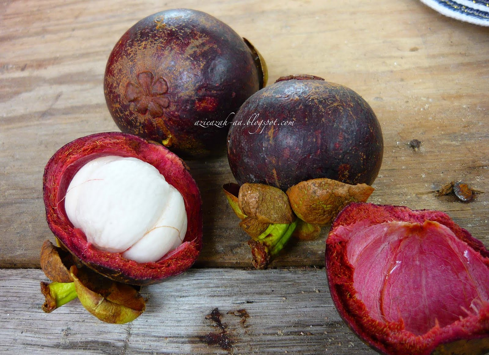 Mangosteen is eaten together with (excessive) durian, to overcome the heatiness.
