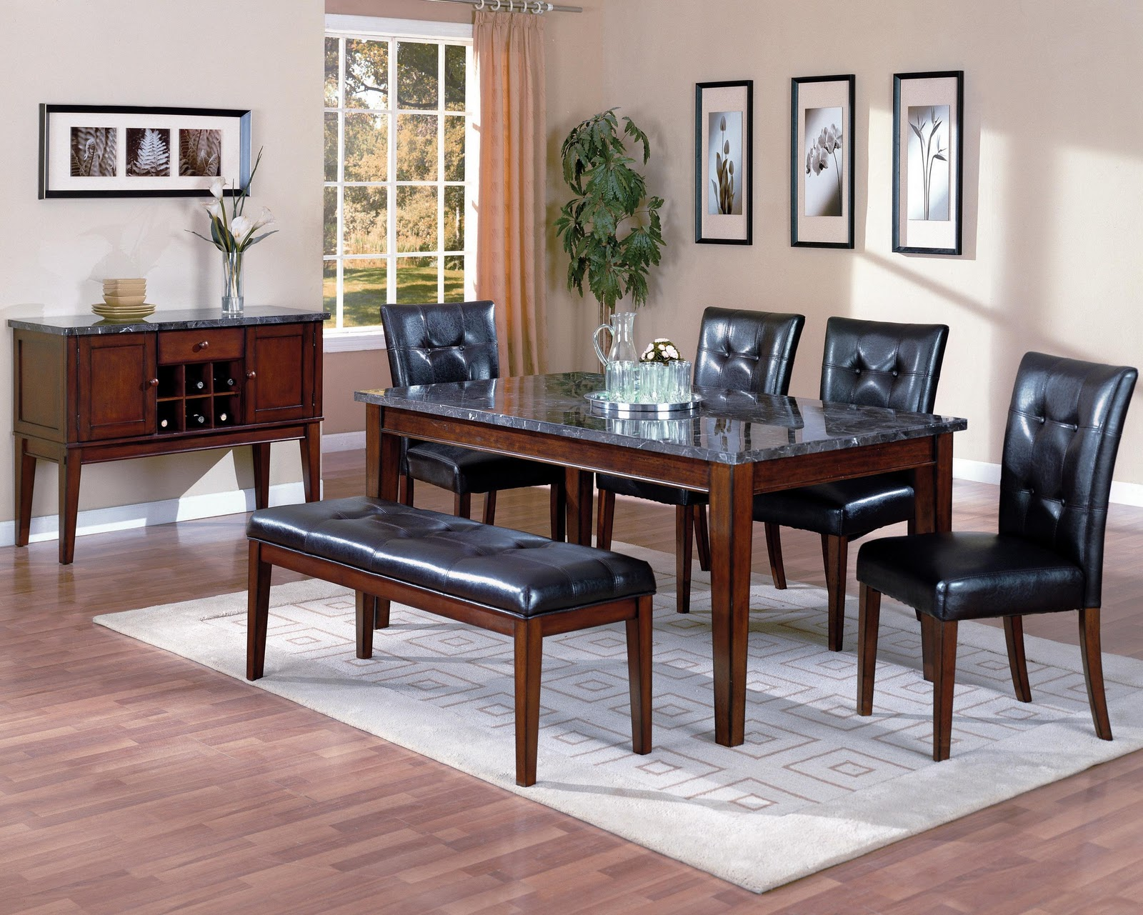 royal furniture outlet world imports 6284 dining room set royal furniture outlet 215 355. Black Bedroom Furniture Sets. Home Design Ideas