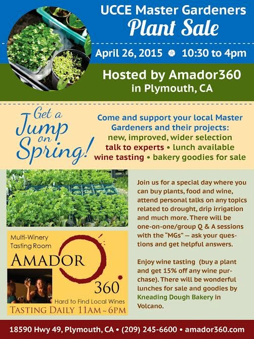 Master Gardeners Plant and Seed Sale - Sun April 26