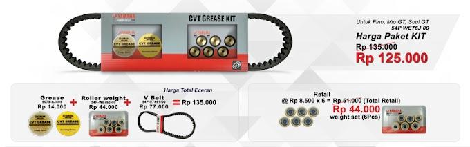 Promo Paket CVT Mio GT Soul GT dan Fino