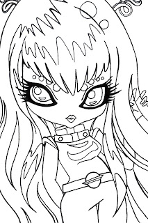 bratzillaz coloring pages online - photo#27