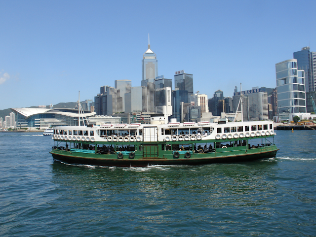 Star ferry service Hong Kong