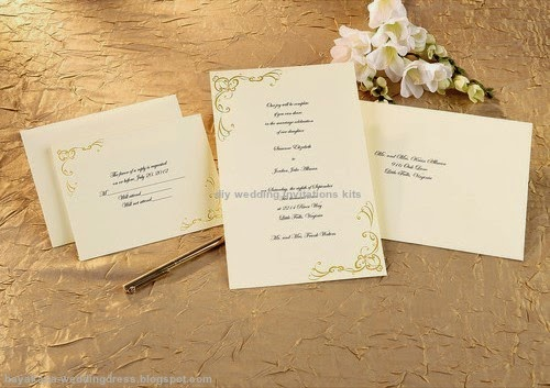 diy wedding invitations kits
