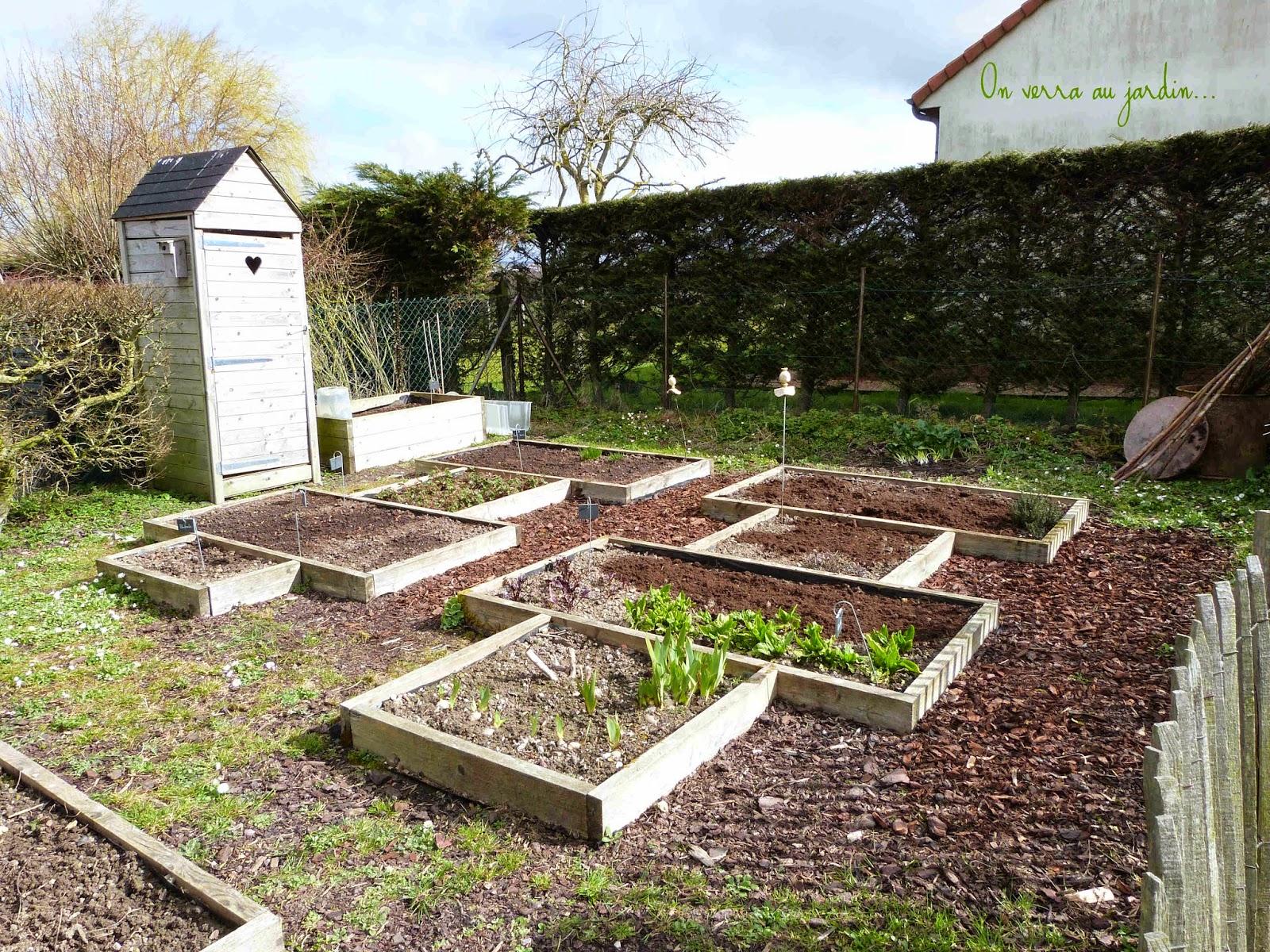 On verra au jardin potager printanier for Au jardin potager