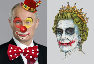 Vladamir Putin & Queen Elizabeth