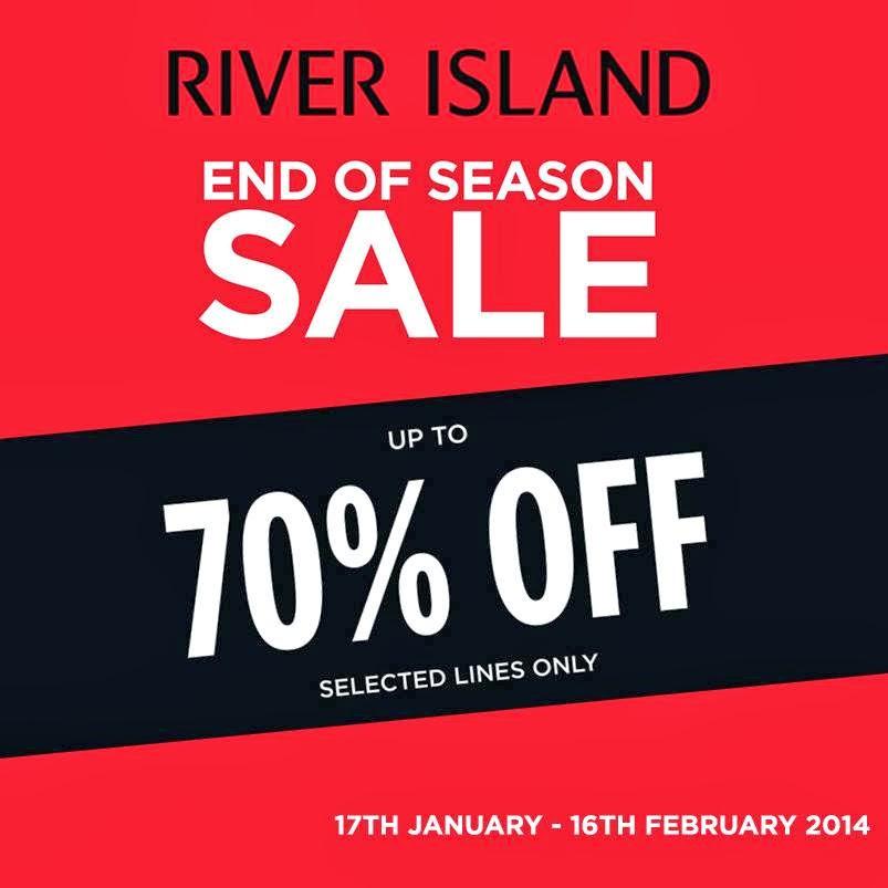 Manila Shopper River Island End Of Season Sale Jan Feb 2014