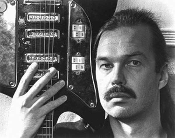 Arthur Jarvinen with guitar - photo courtesy of Daniel Rothman