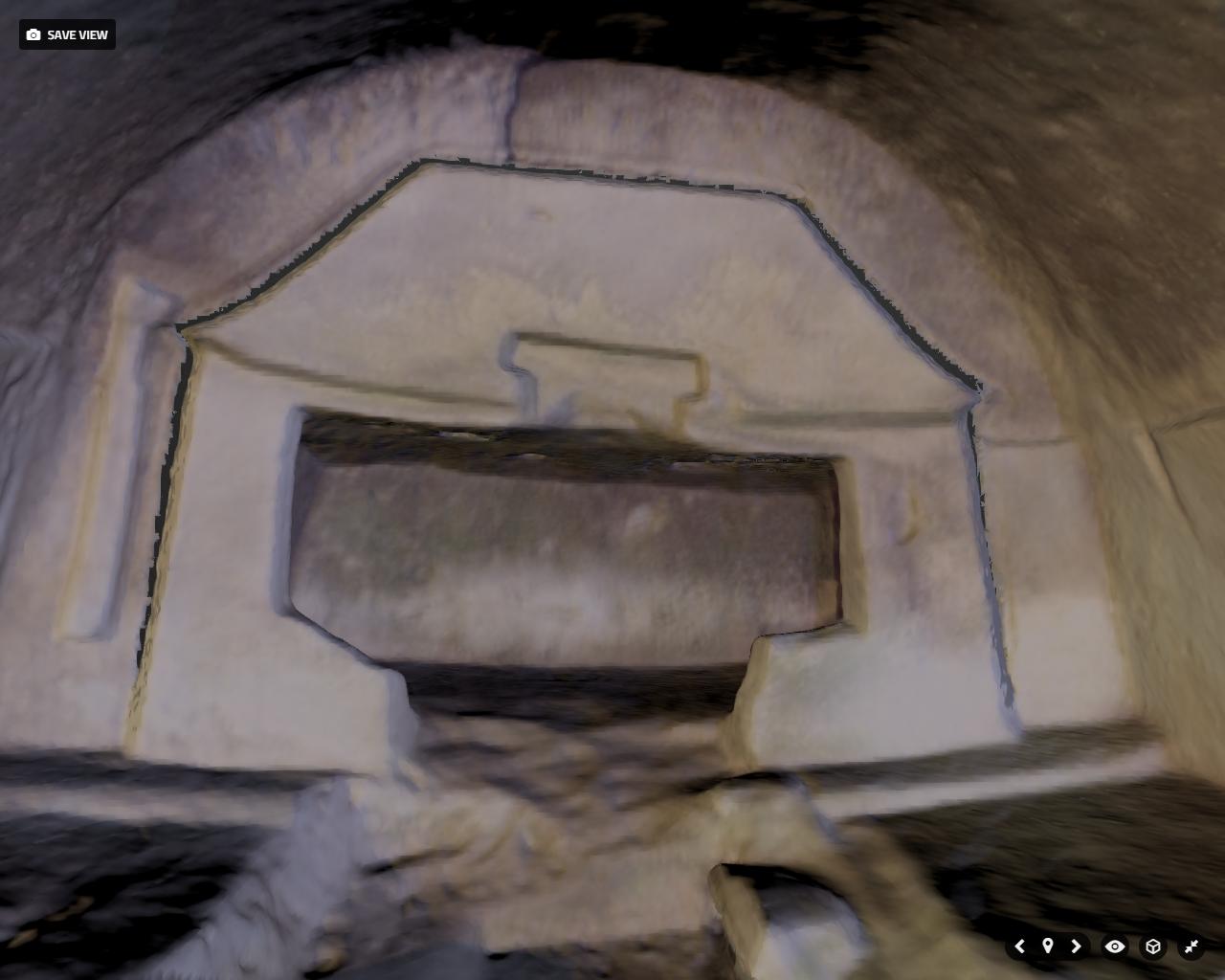 石貫ナギノ横穴群8号墓 通常版3Dモデル