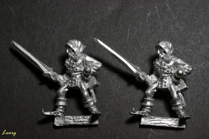 Elfo Silvano con espada, Sword 14 de referencia 074213/24