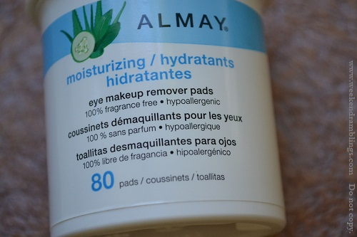 almay eye makeup remover pads moisturizing reviews