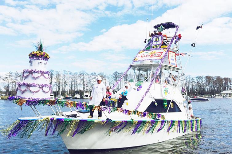 mardi gras boat parade