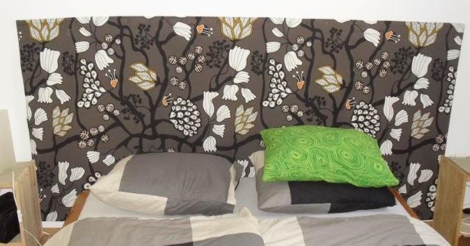 Un cabecero barato y original para un piso de alquiler - Cabeceros originales y baratos ...