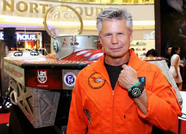 Luminox Save The Seas, scott Cassell, Luminox Scott Cassell Deep Dive Automatic Watch, Luminox, Scott Cassell, Deep Dive, Automatic Watch