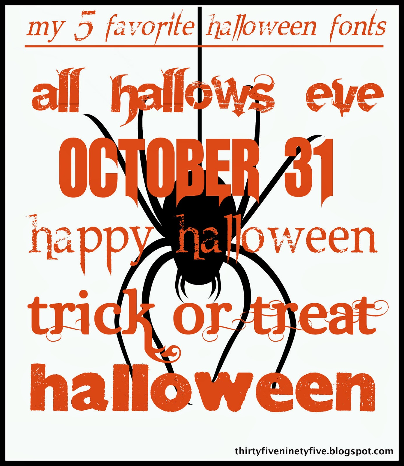 Happy Halloween Fonts