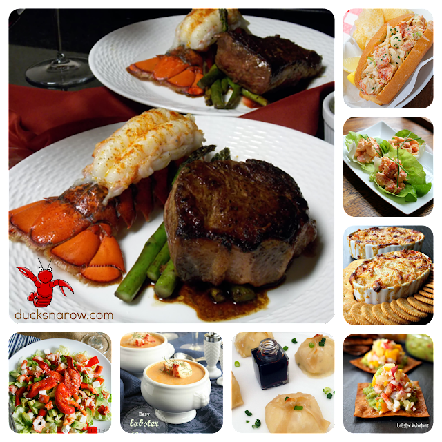 lobster recipes; lobster roll; steamed lobster; lobster tail; lobster appetizer; lobster salad