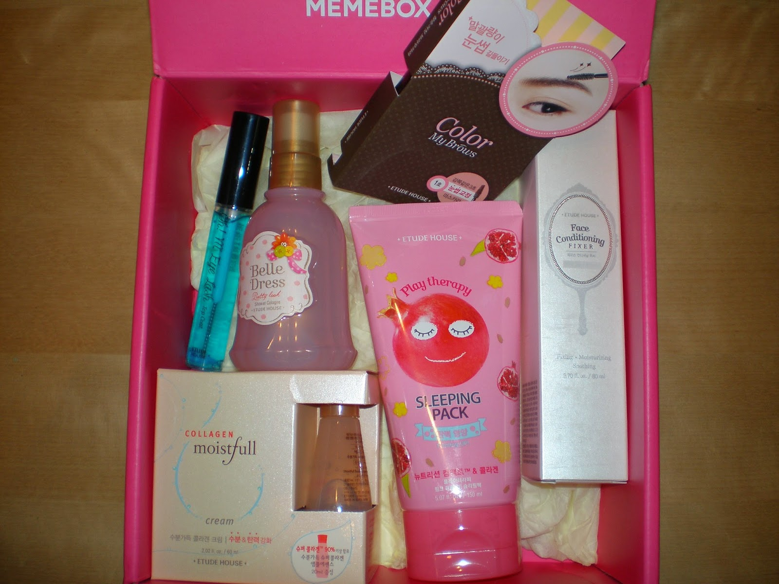 Memebox Superbox #72 Etude House