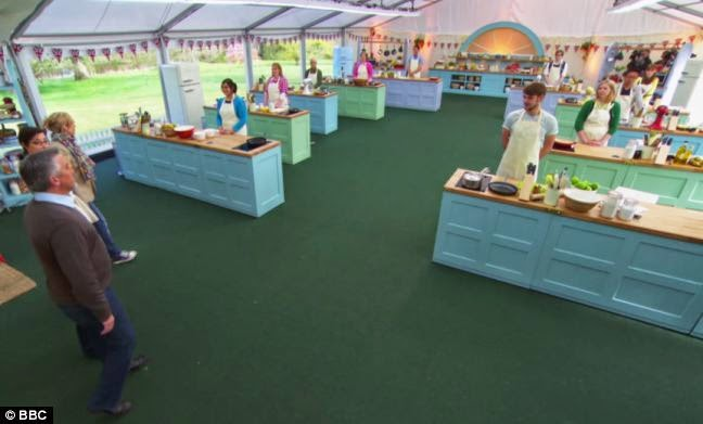 FAWLTY SPIRES The Great British Bake Off