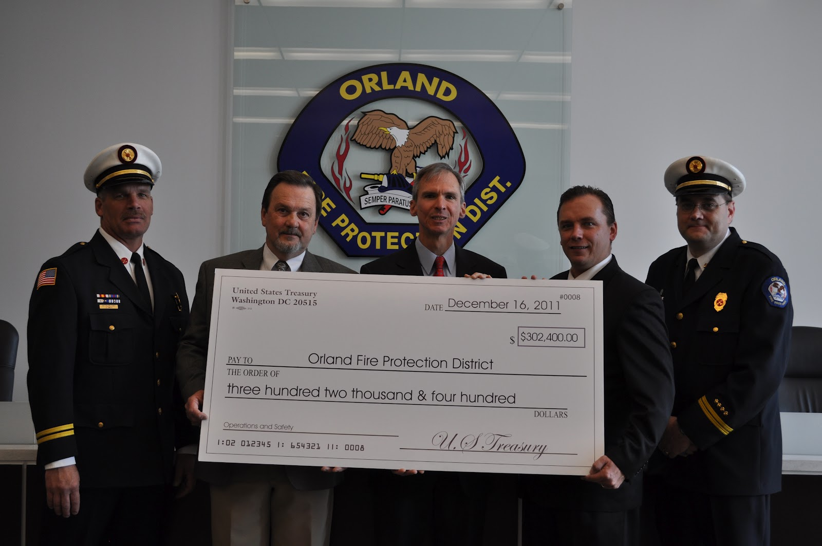 orland fire protection district blog  battalion chief dan smith trustee marty mcgill congressman daniel lipinski president james hickey acting chief raymond kay