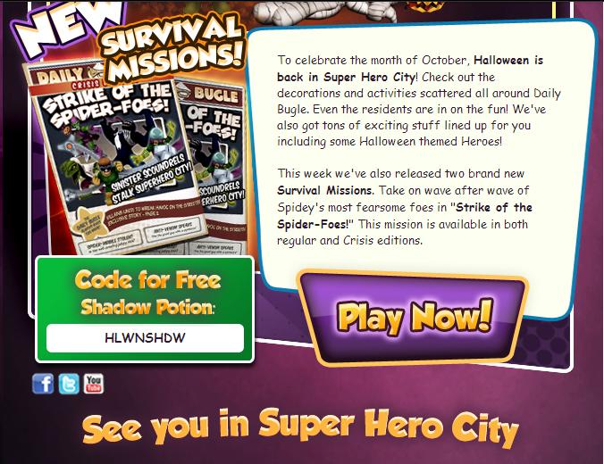 Hero Up Codes