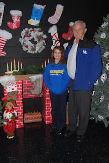 Montgomery Catholic Preparatory Grandparent Lights Up St. Bede Elementary Campus 1