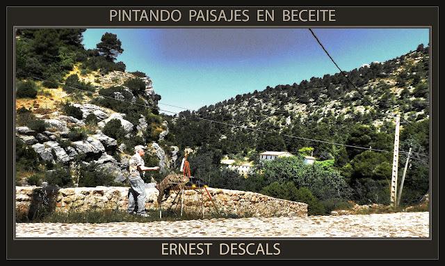 BECEITE- PAISAJES-PINTURA-MATARRANYA-MATARRAÑA-FOTOS-PINTANDO-ARTISTA-PINTOR-ERNEST DESCALS-