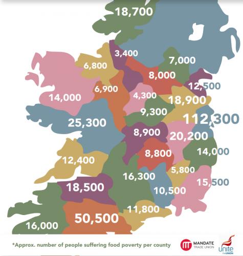 Alegra La escalada de la pobreza en Irlanda La farsa de la
