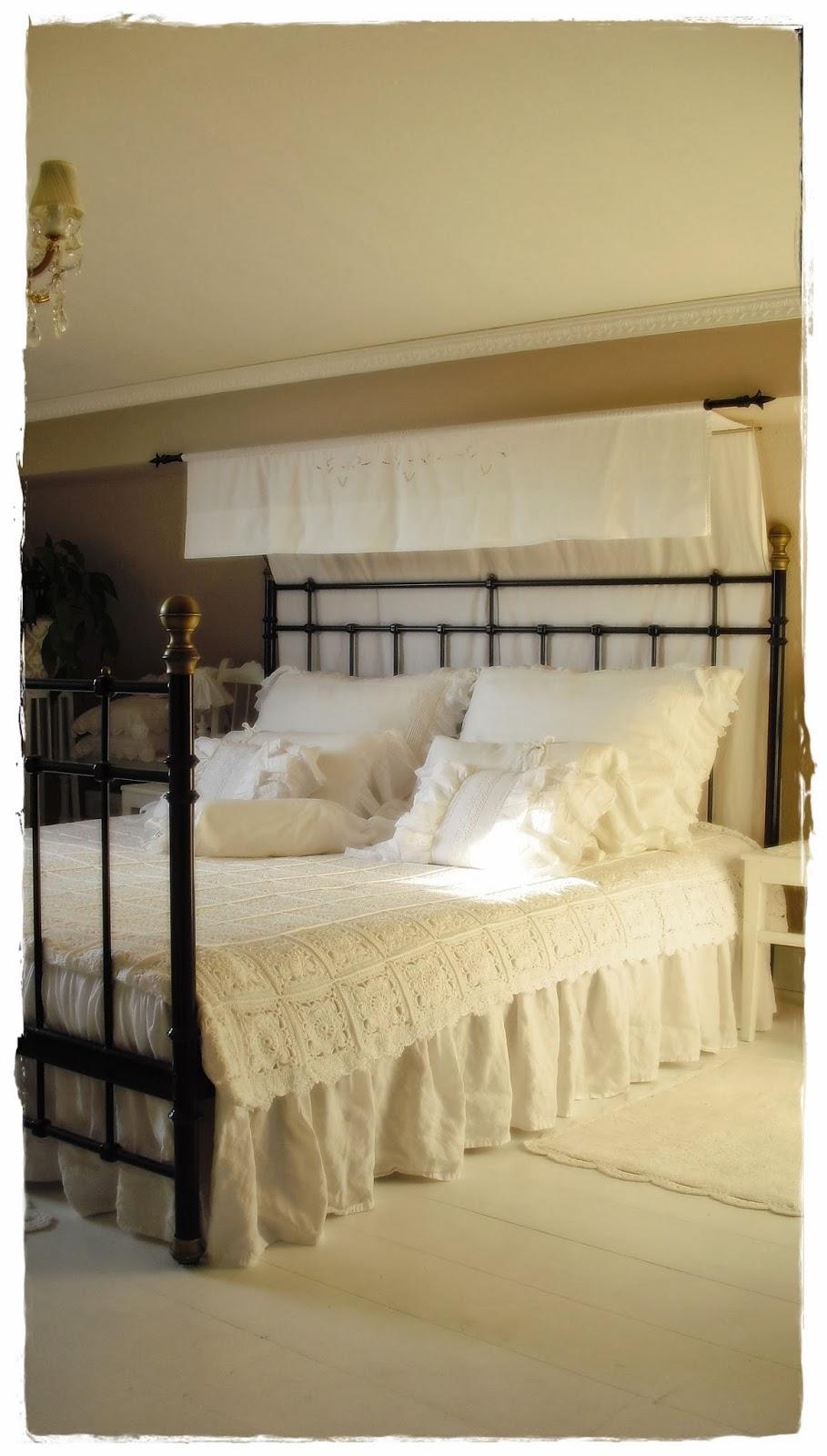Shabby landhaus: vorher nachher....schlafzimmer......