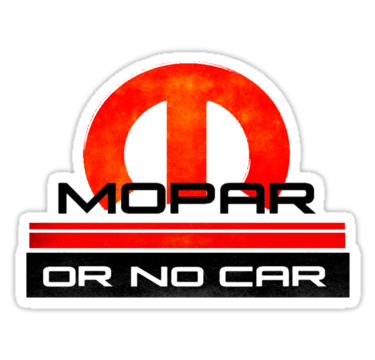 Mopar ou carro nenhum!