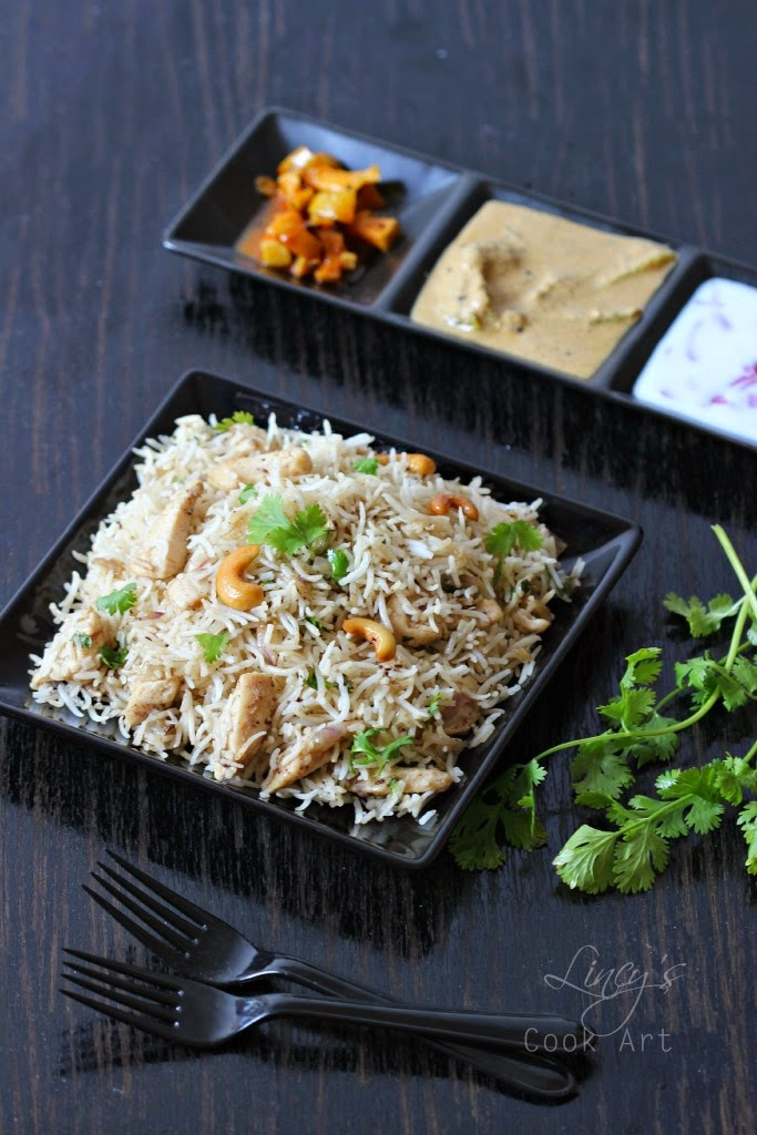 Instant chicken pulao