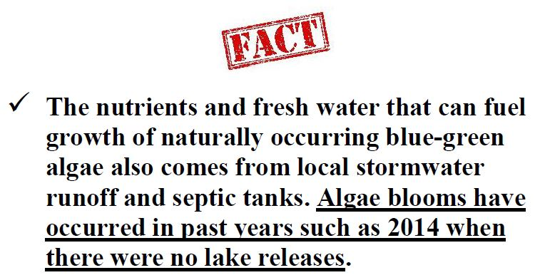 Blue-Green Algae. Myth vs. FACT: Click image.