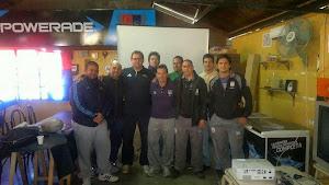 Capacitación de árbitros en la Unión Andina de Rugby