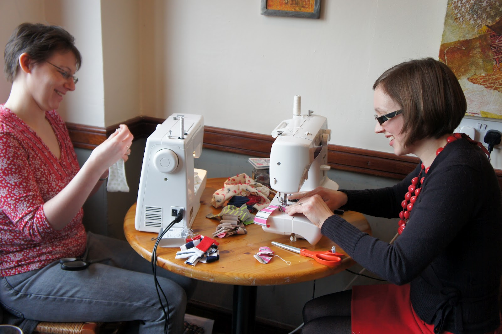 kitchen table sewing monkey business