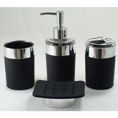 Perfect Black Bathroom Accessories