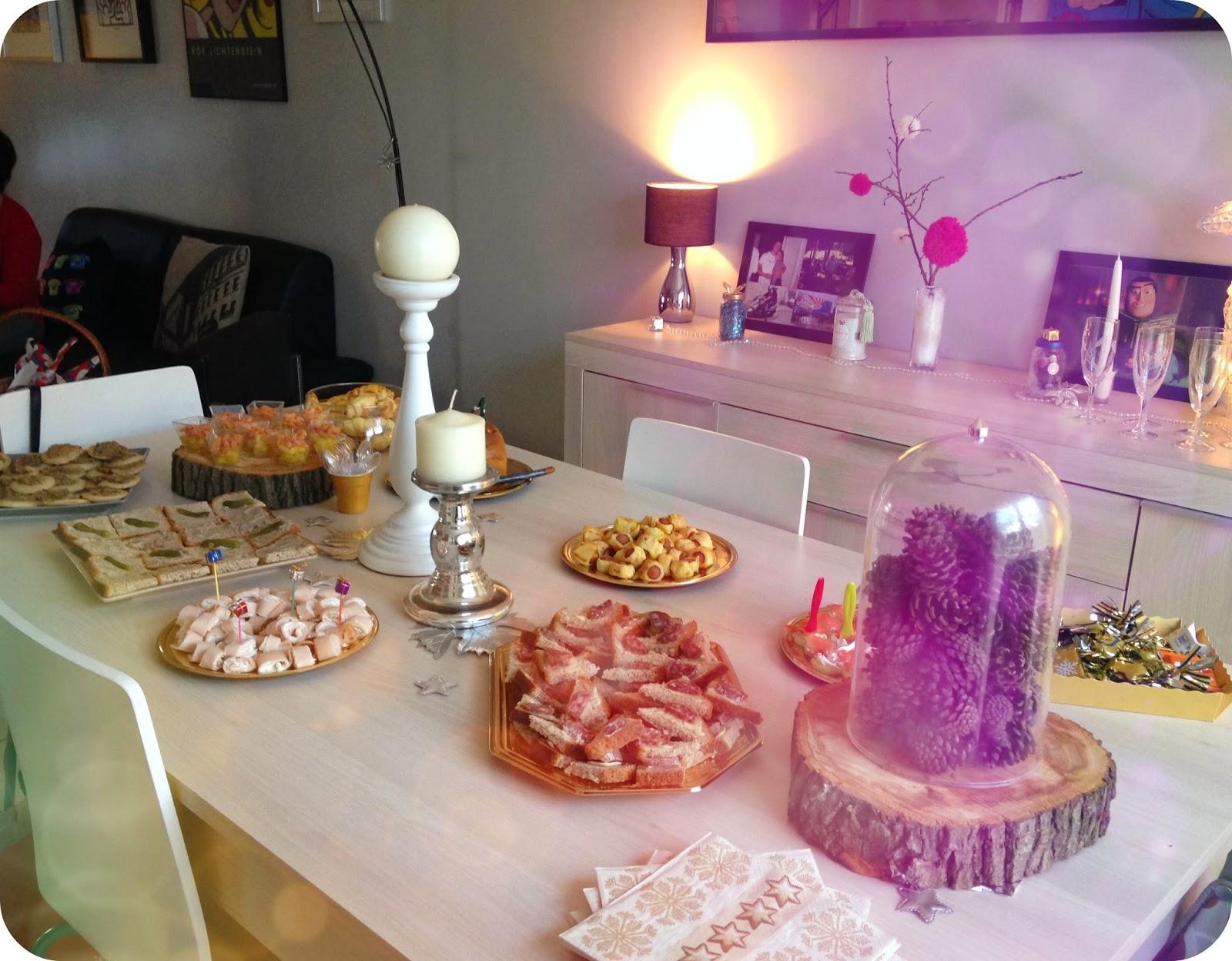 table buffet pour les fêtes
