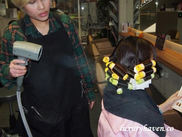 hair story nano mist perm reivew