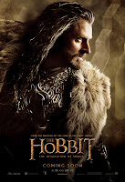 The Hobbit: The Desolation of Smaug - Thorin Oakenshield Character Poster Richard Armitage