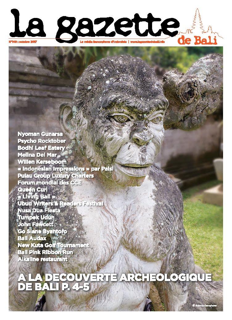 La Gazette de Bali octobre 2017