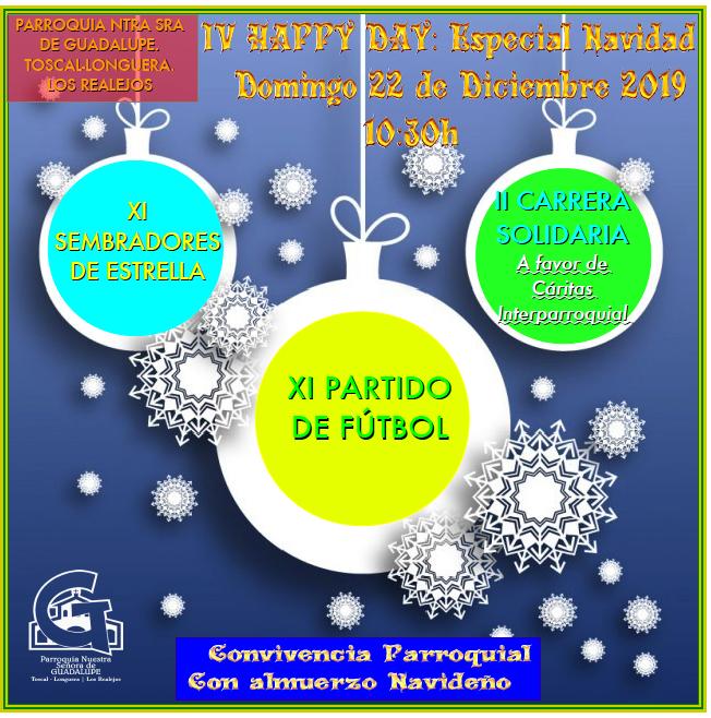 22 diciembre: IV Happy Day